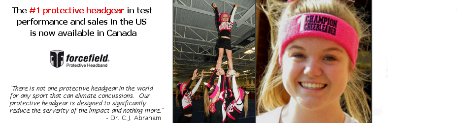 ForceField Headbands reduce risk of concussion in cheerleading